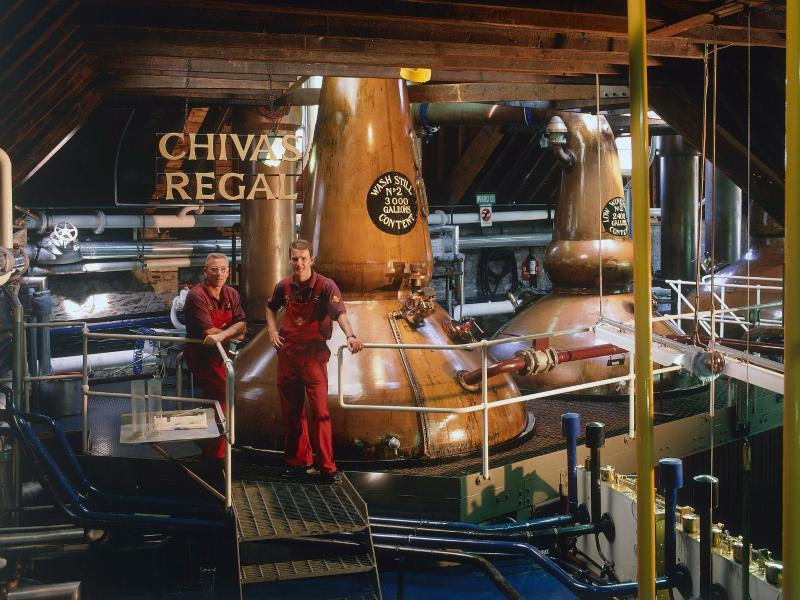 Bild zu Whiskybrennerei Strathisla