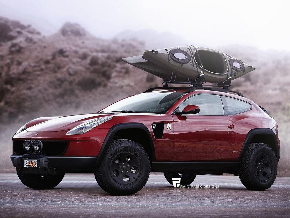Bild zu Ferrari SUV