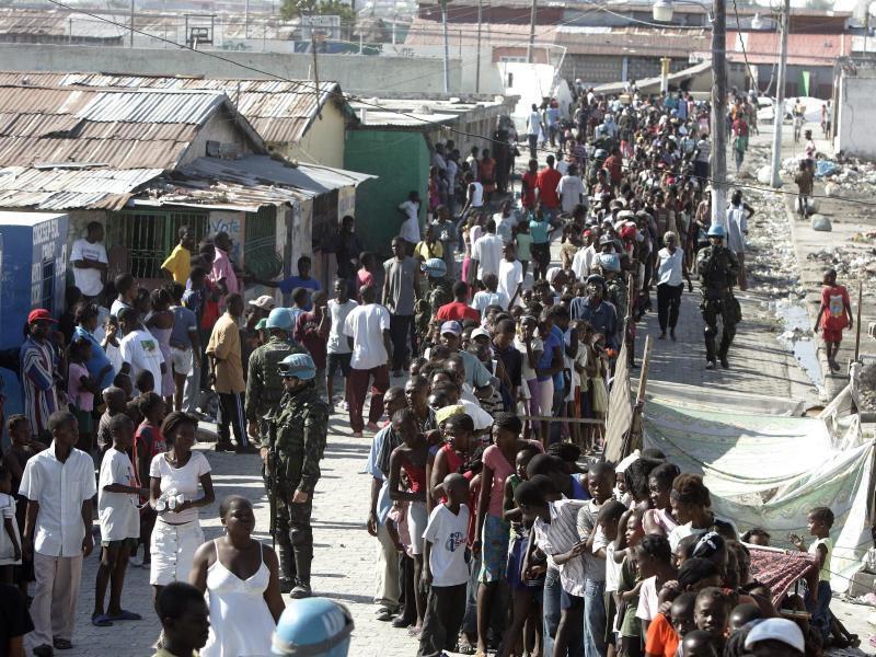 Bild zu Nach Erdbeben in Haiti