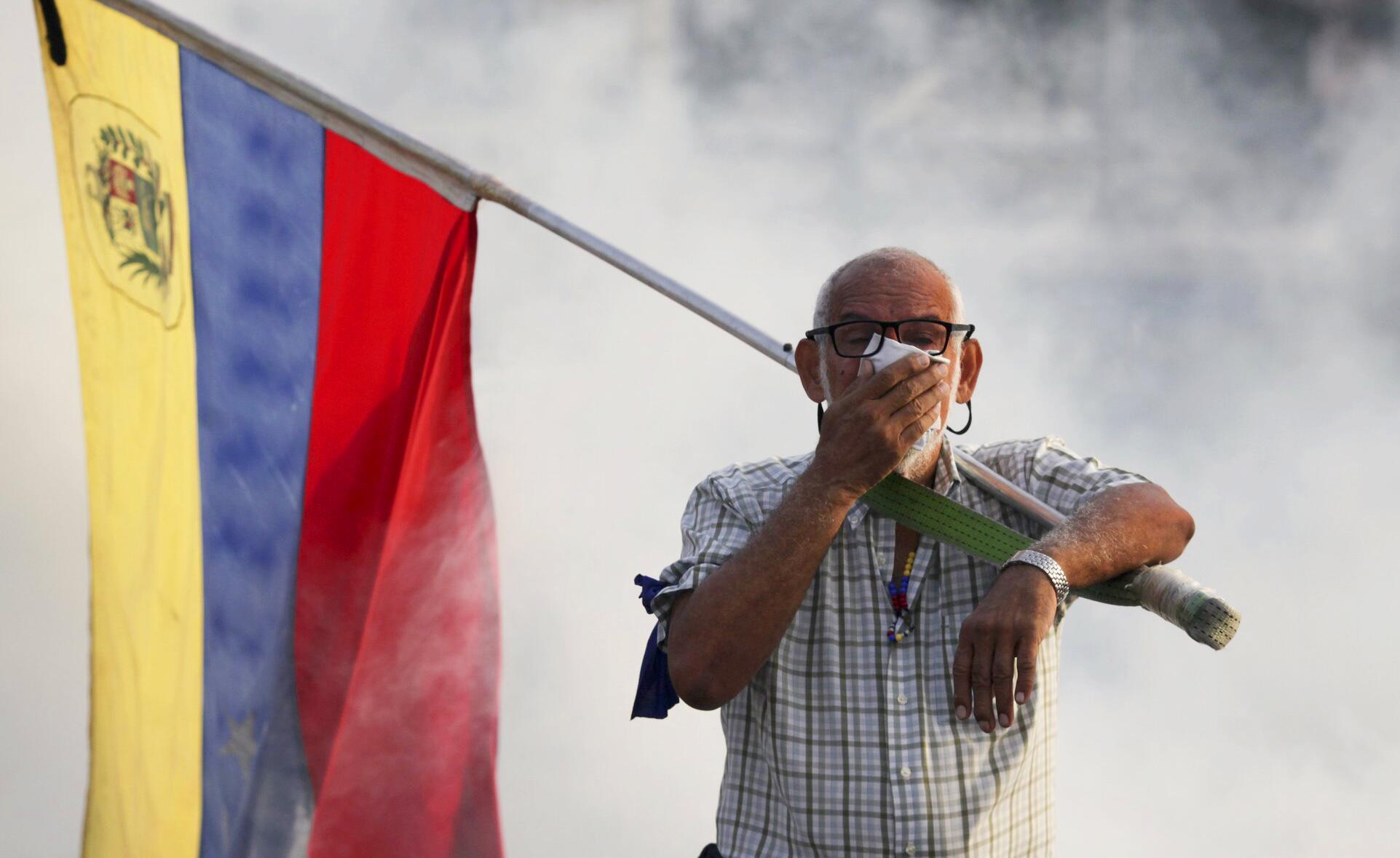 Bild zu Krise in Venezuela - Aufstand