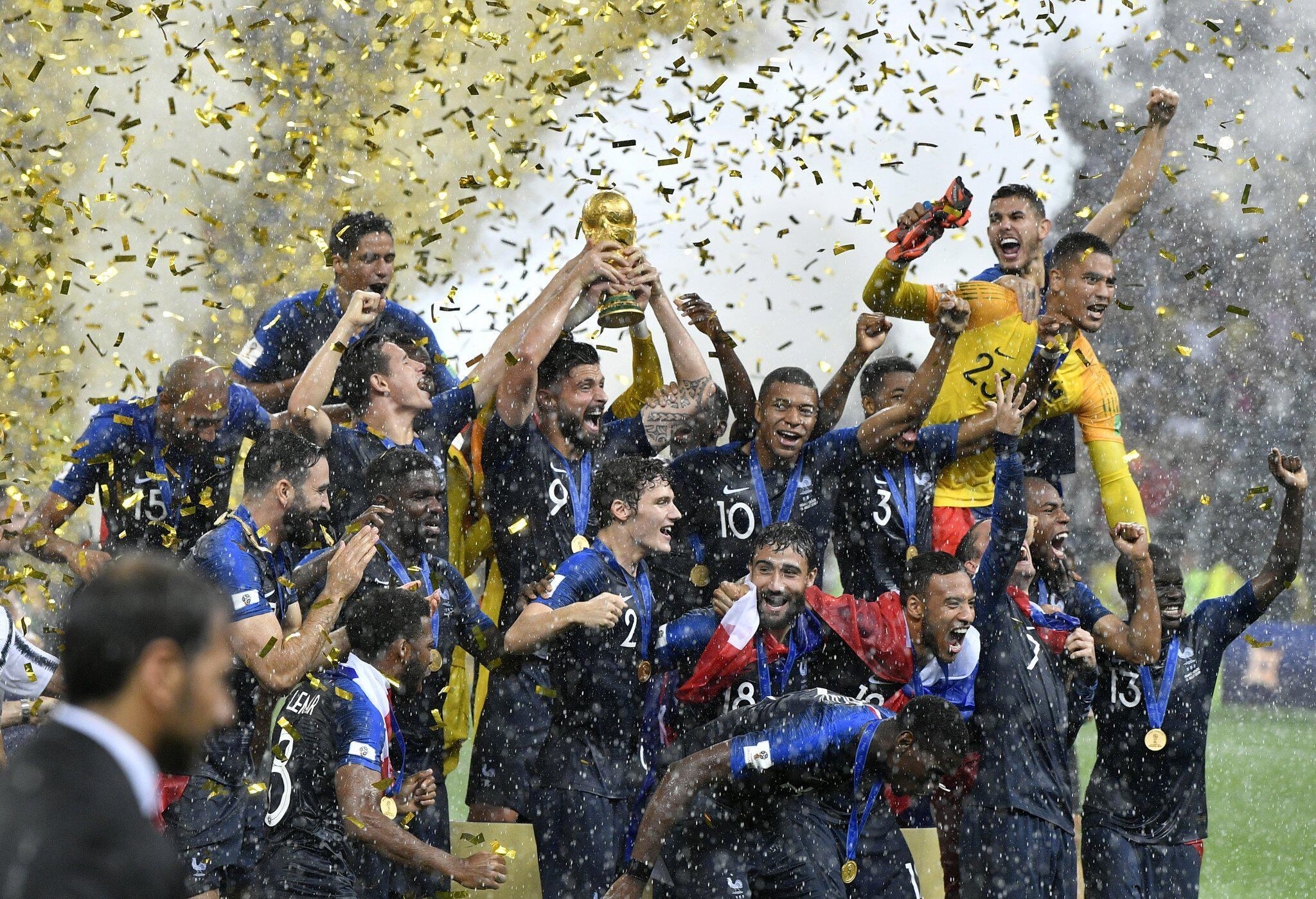 Bild zu WM 2018 - Frankreich - Kroatien