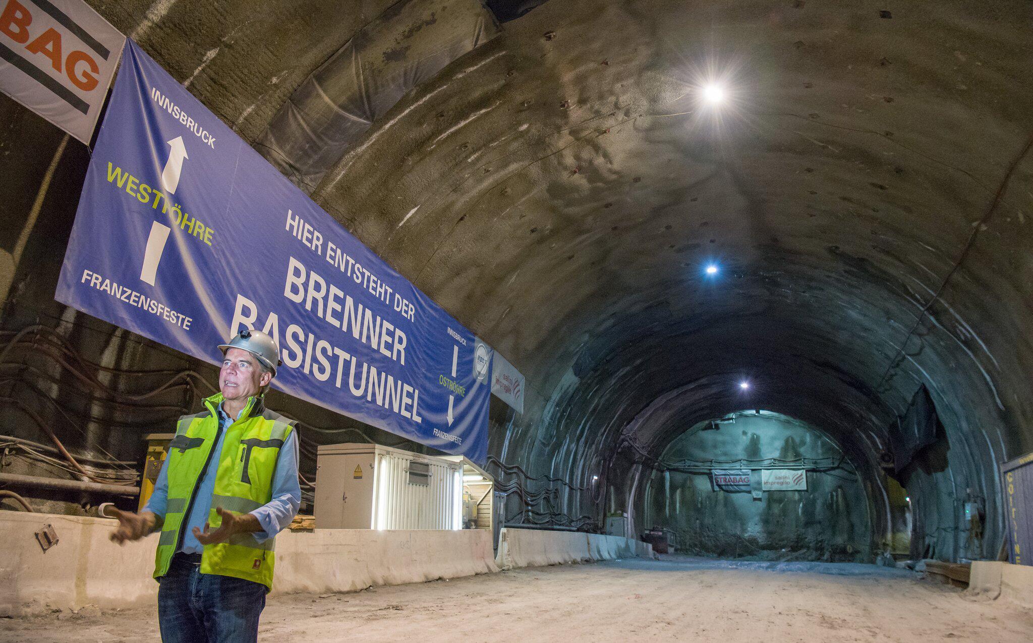 Bild zu Brenner Basistunnel, Baustelle, Halbzeit