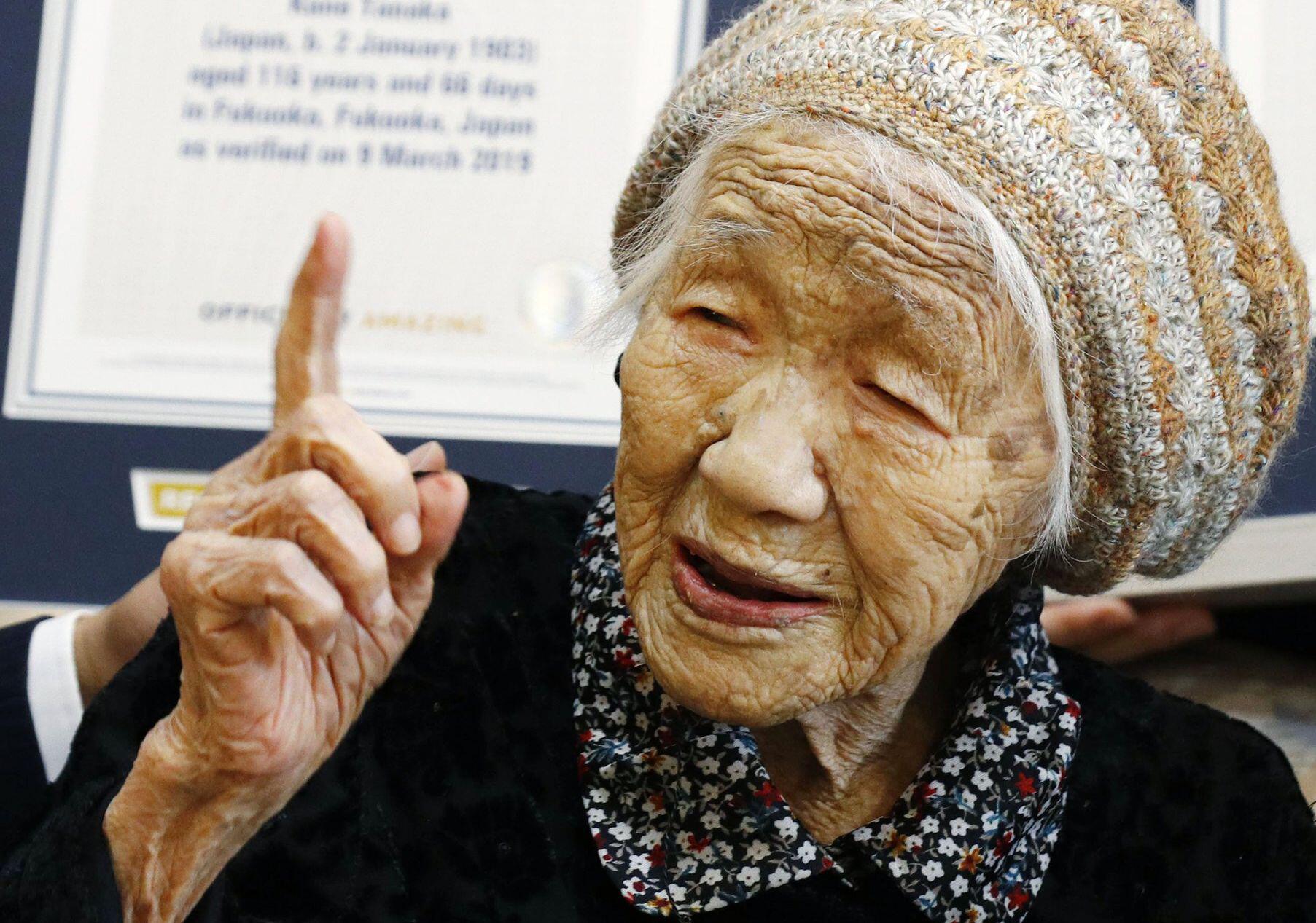 Bild zu Ältester Mensch der Welt
