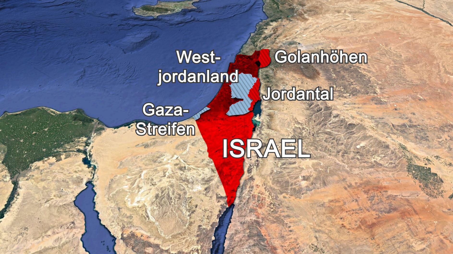 Bild zu Netanjahus Annexionspläne