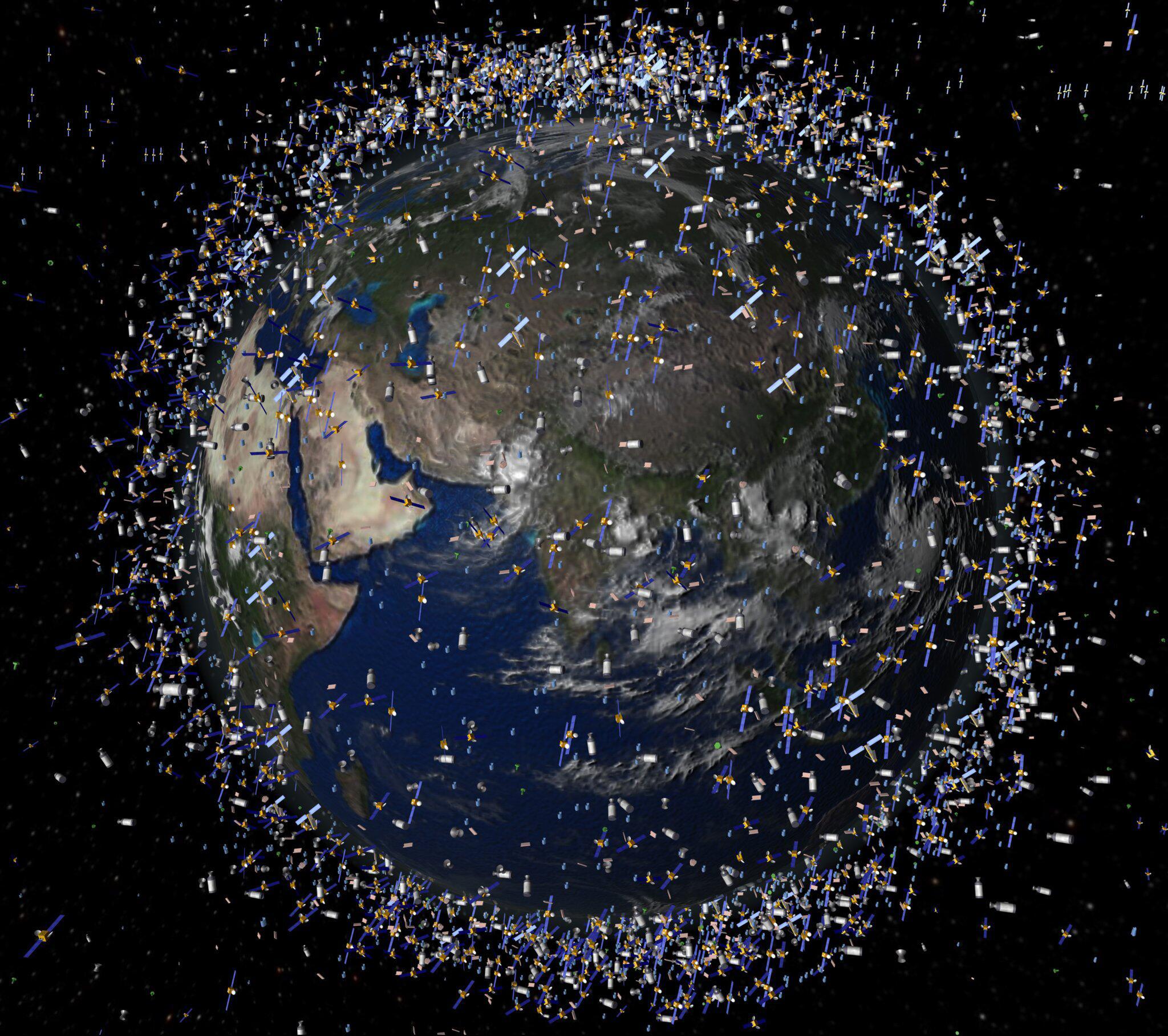 Bild zu Schrottplatz Weltraum