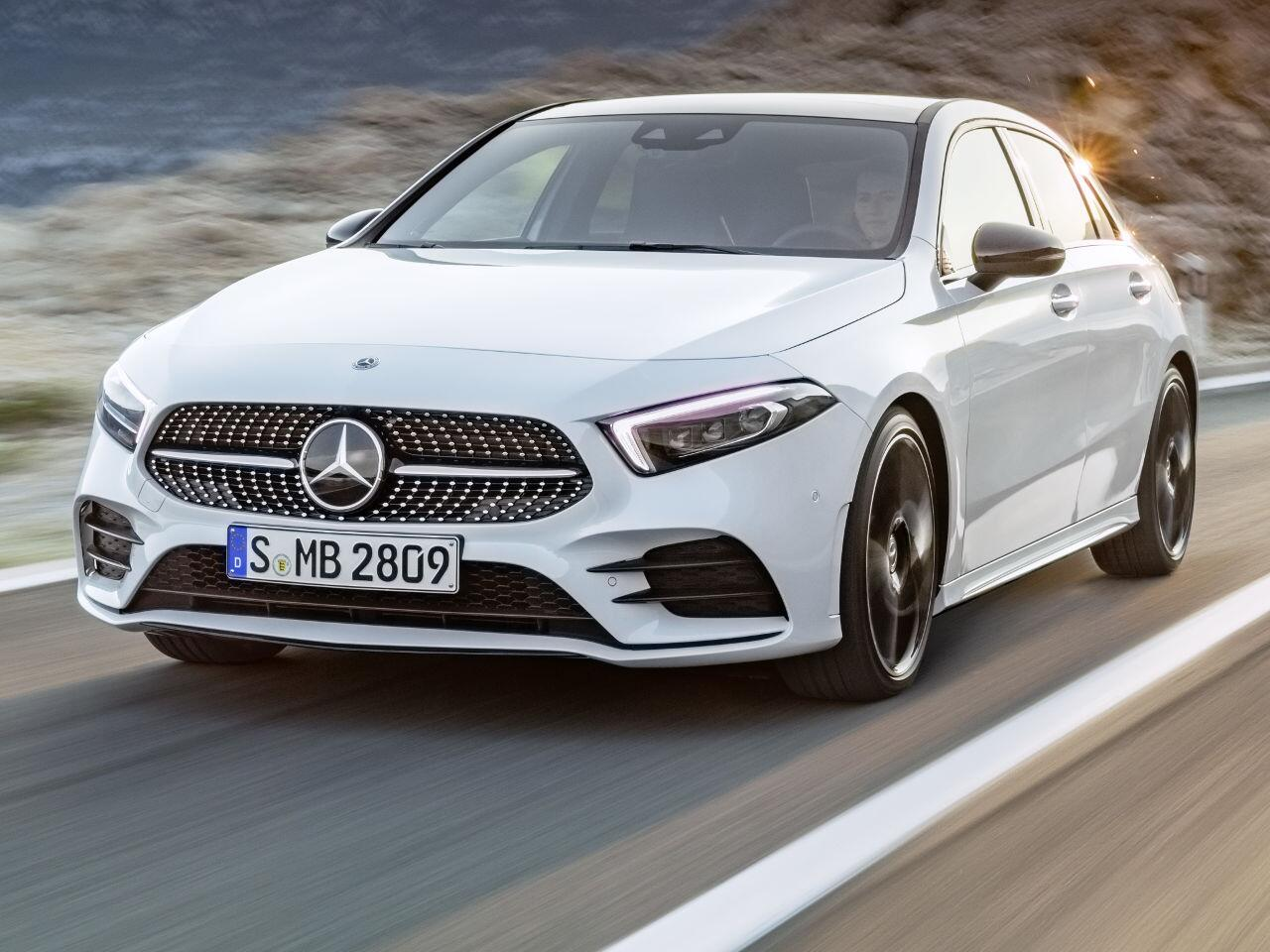 Bild zu Die neue Mercedes-Benz A-Klasse: Viel Luxus für die Kompaktklasse