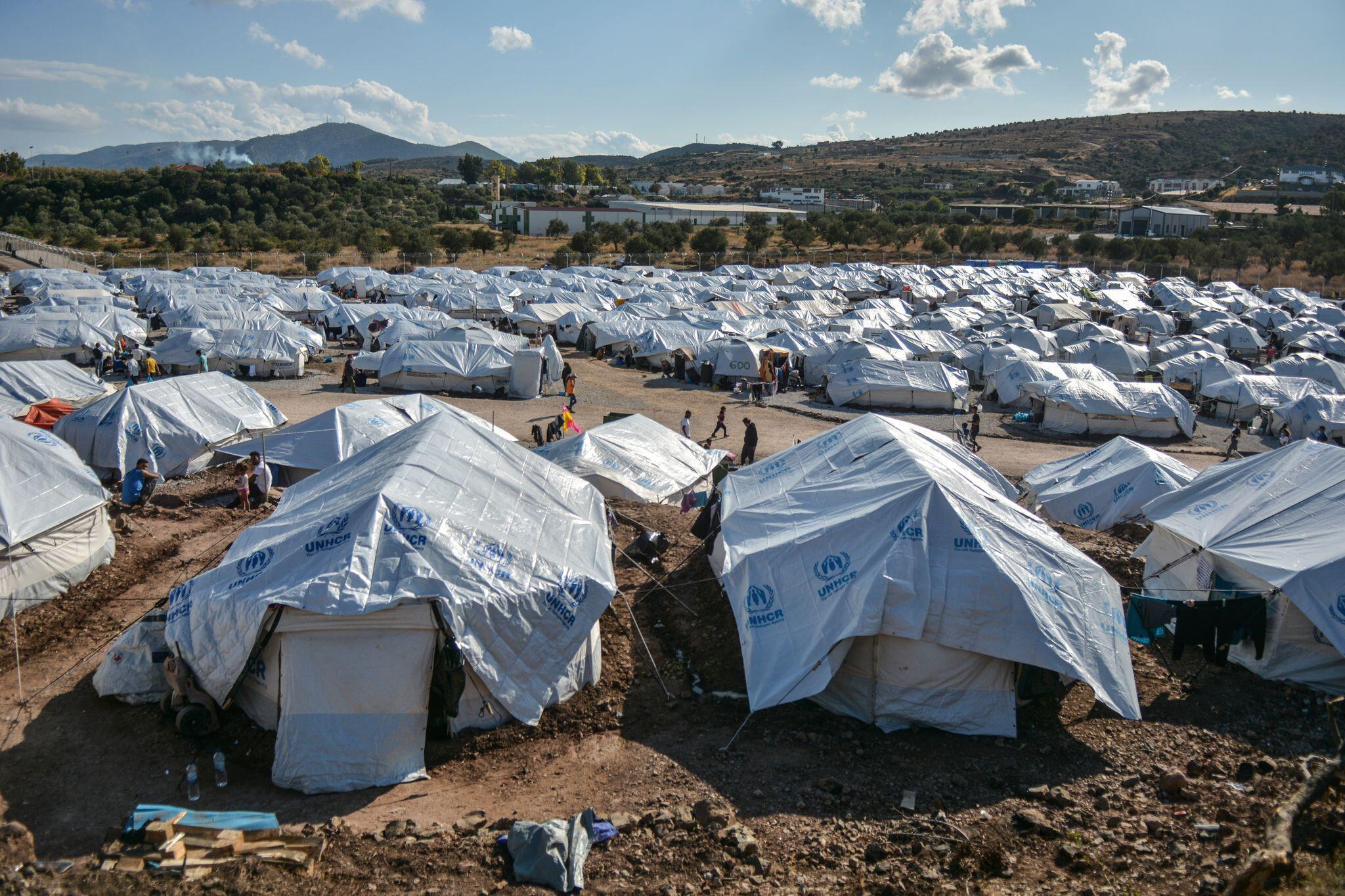 Bild zu Flüchtlingslager Kara Tepe