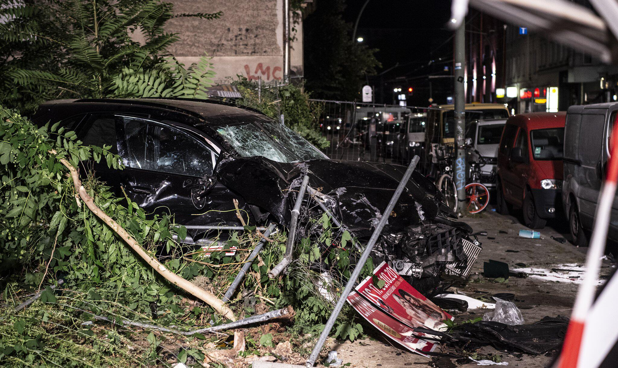 Bild zu Serious accident with four dead in Berlin