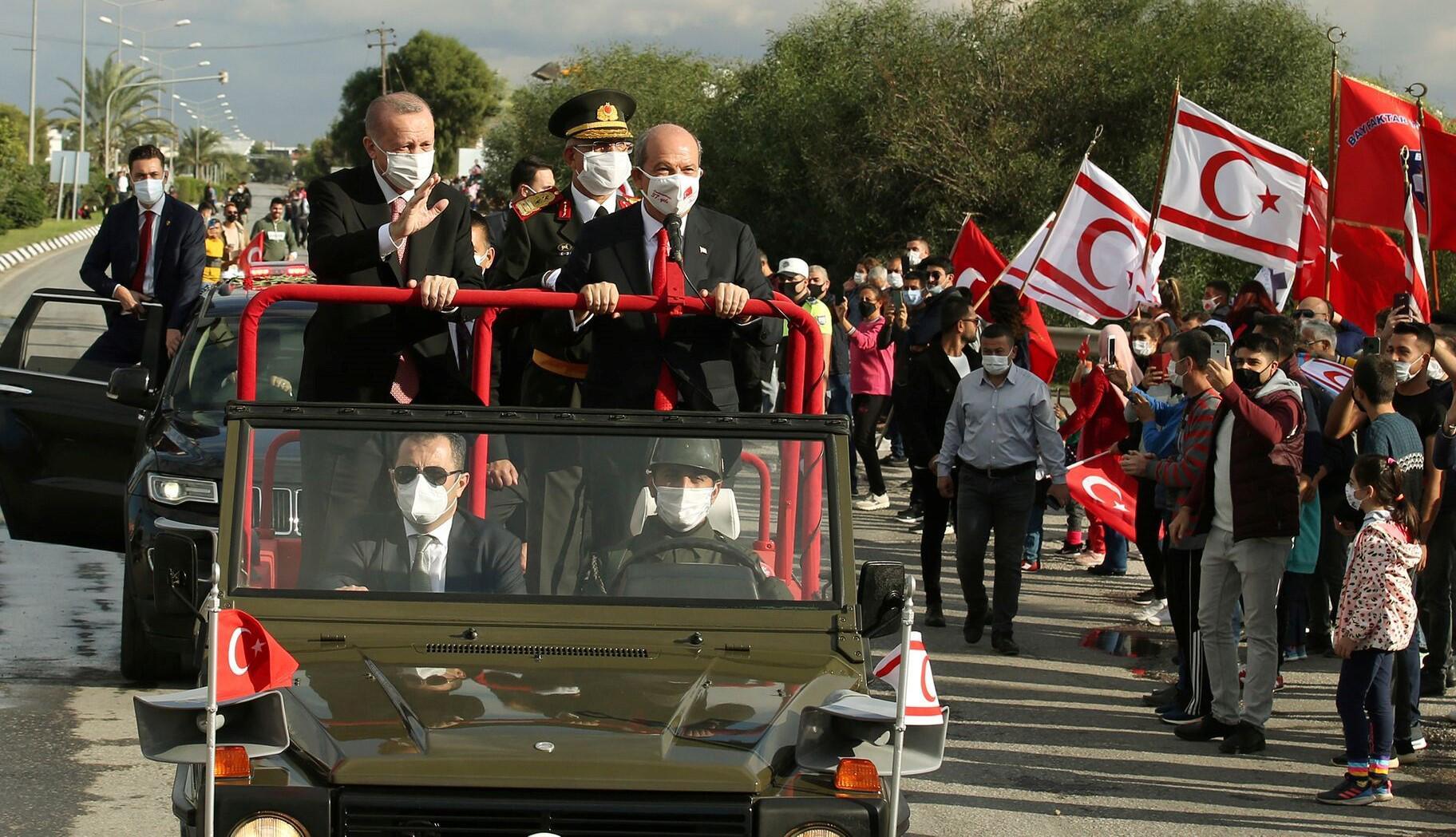 Bild zu Türkischer Präsident Erdogan in Nordzypern