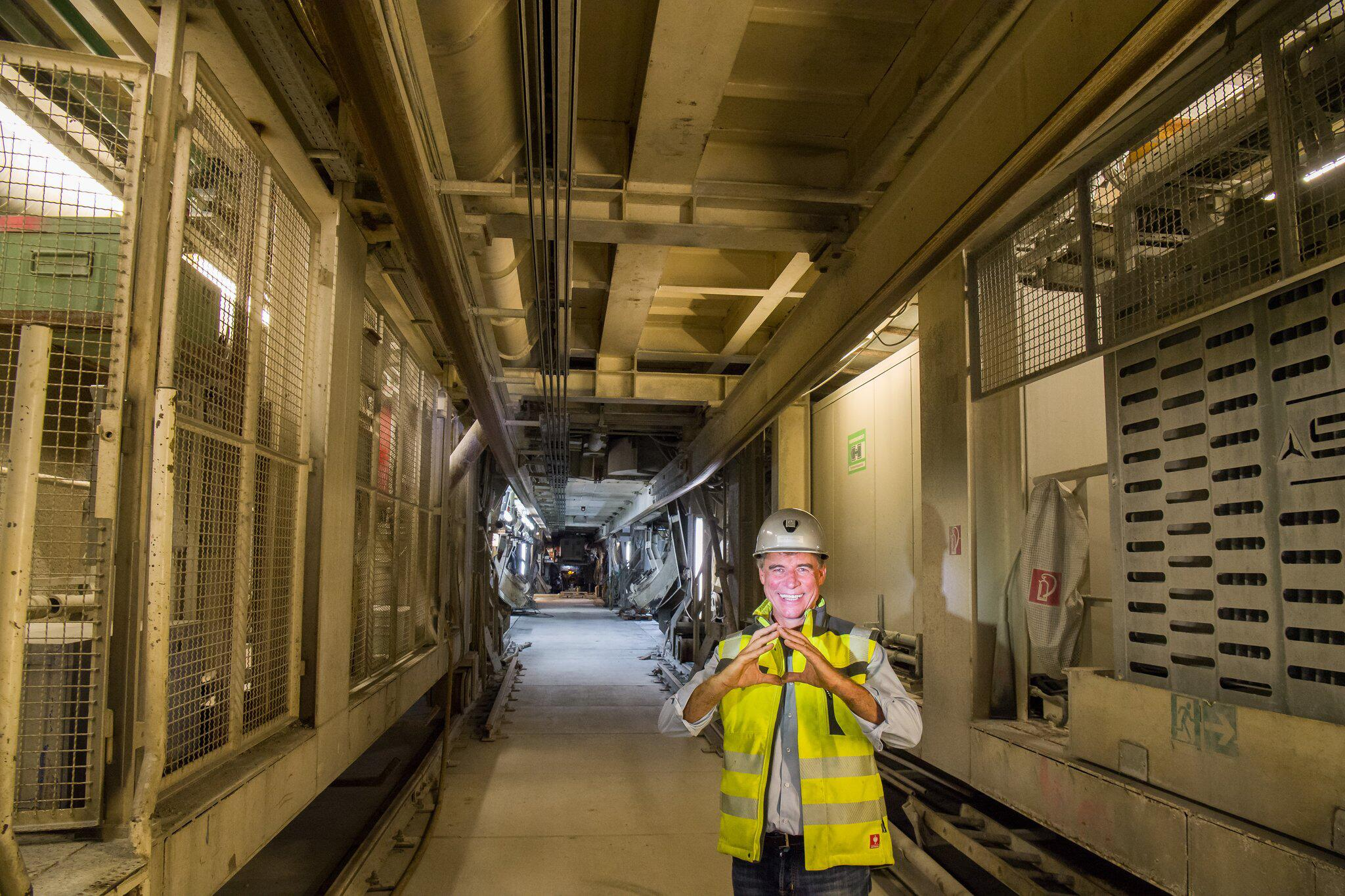 Bild zu Brenner Basistunnel, Konrad Bergmeister