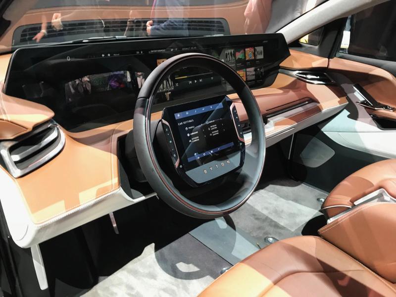 Bild zu SUV von Byton