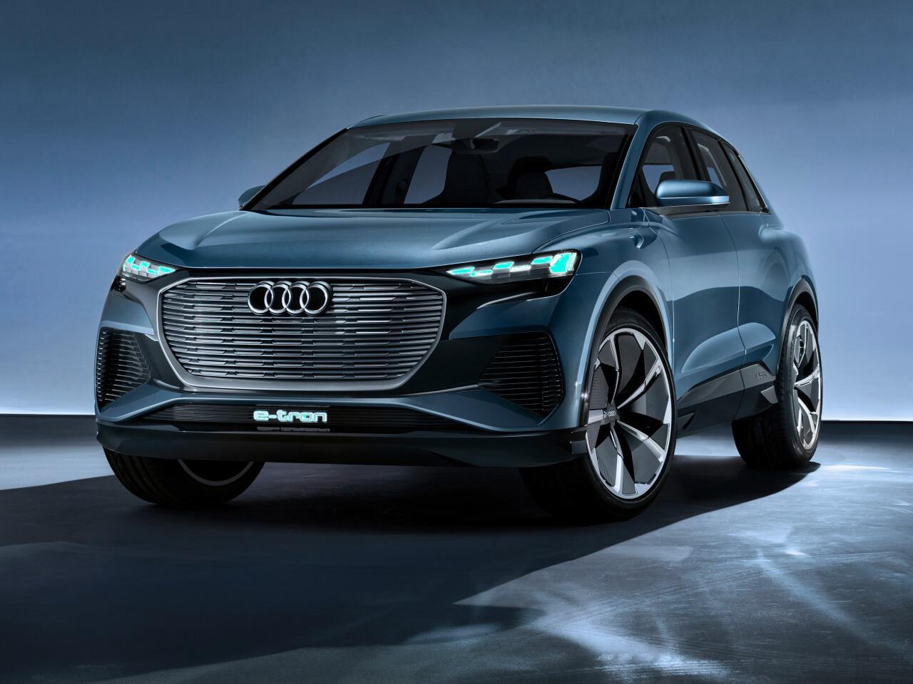 Bild zu Kompakter Elektro-SUV mit Allradantrieb: Audi Q4 e-tron concept