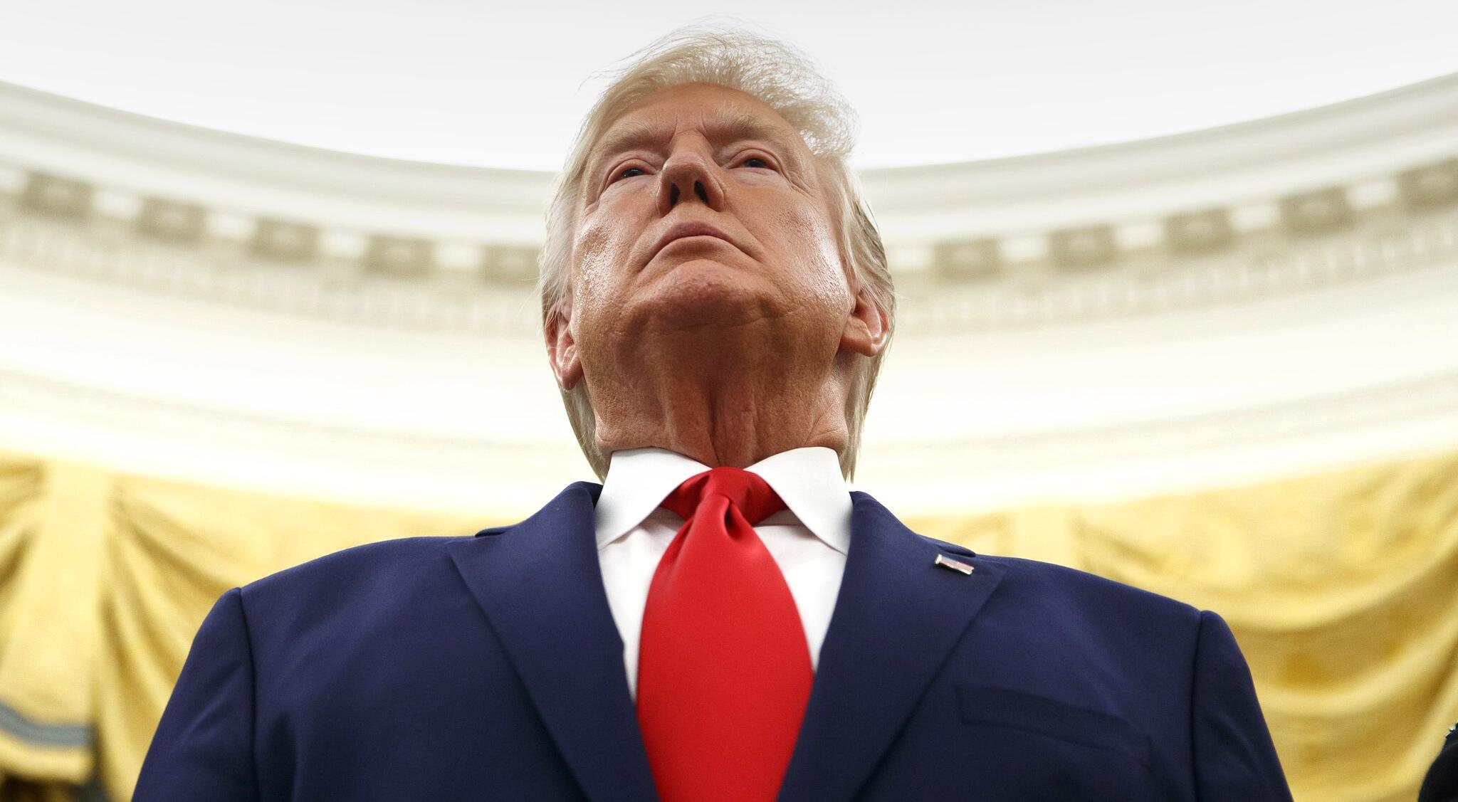 Bild zu Impeachment-Ermittlungen: Justizausschuss lädt Trump ein