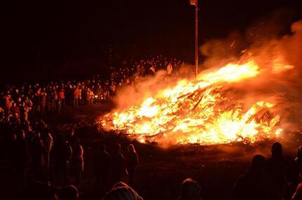 Biike-Brennen auf Sylt