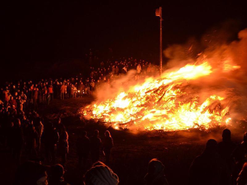 Bild zu Biike-Brennen auf Sylt