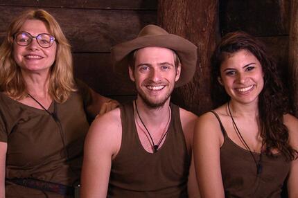 Dschungelcamp 2015: Maren Gilzer, Jörn Schlönvoigt, Tanja Tischewitsch