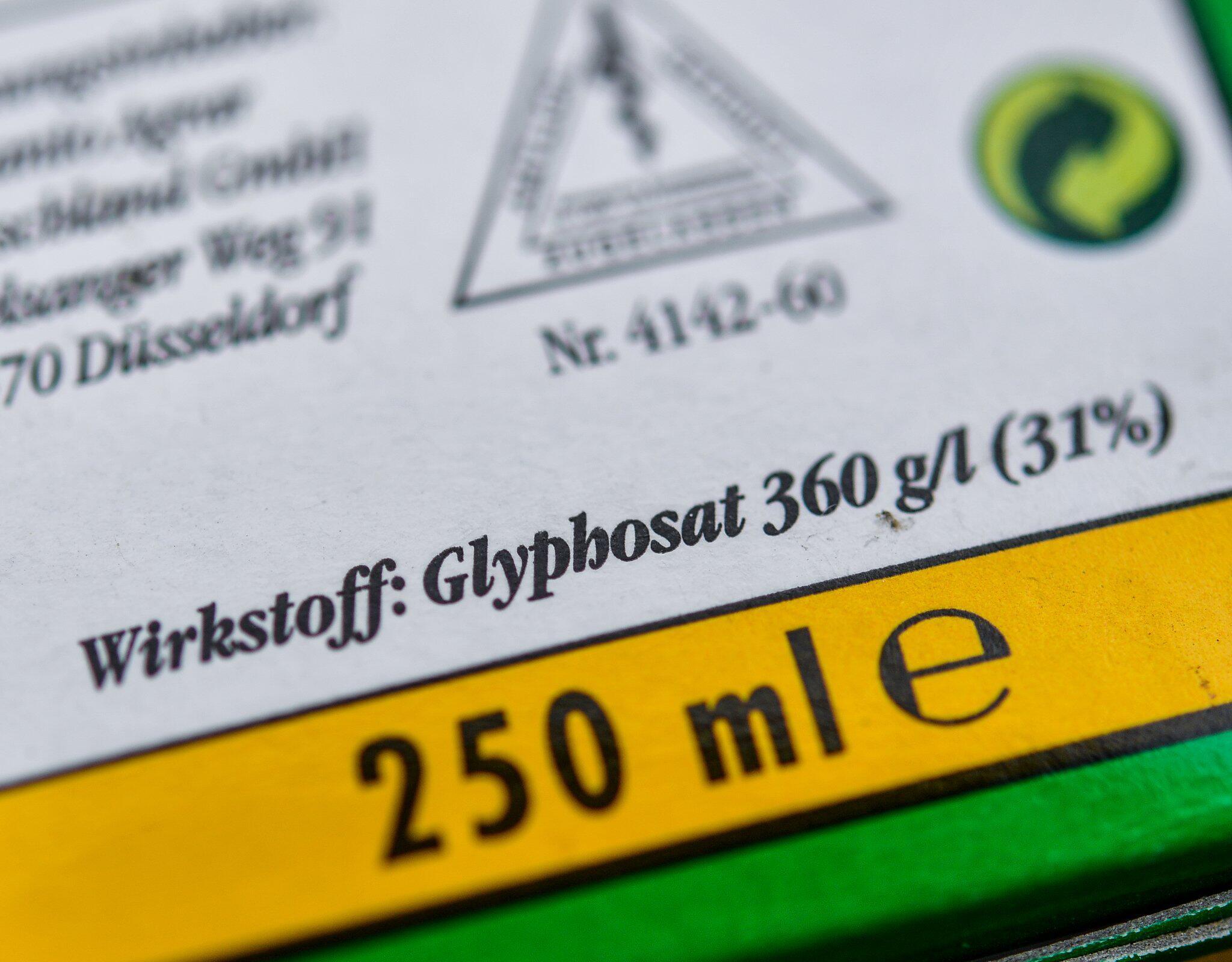 Bild zu Glyphosat