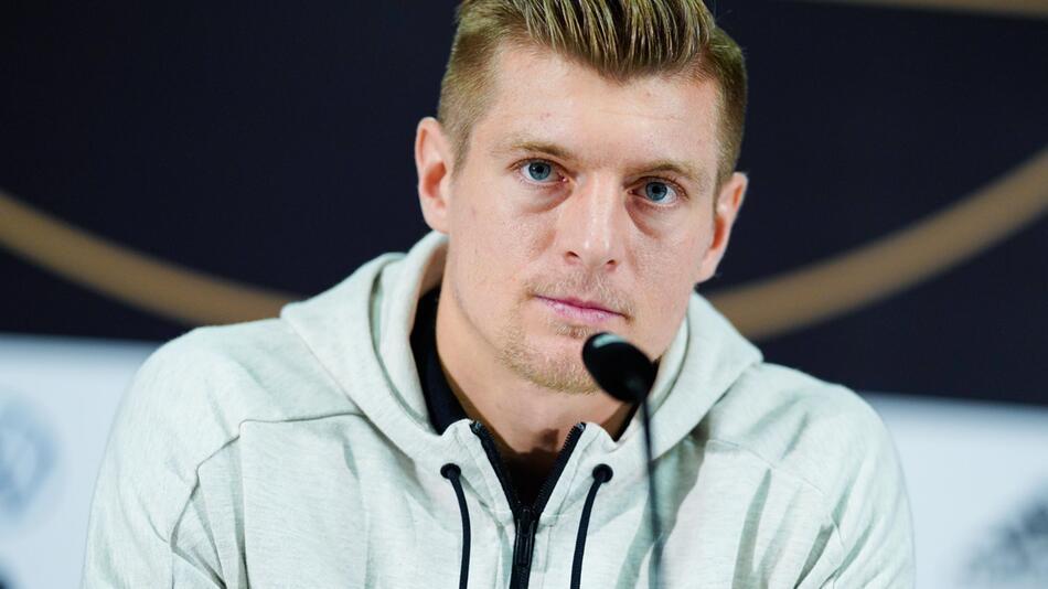 Fußball-Nationalspieler Toni Kroos