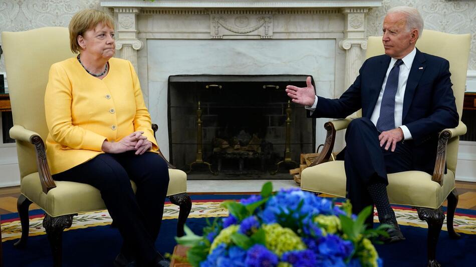 Merkel zu Besuch in den USA