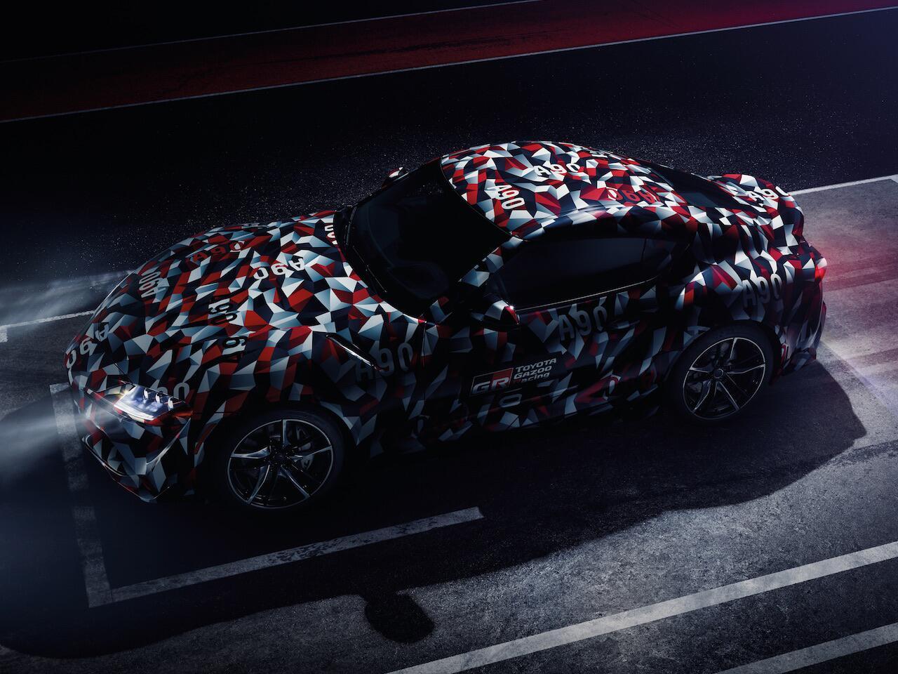 Bild zu Toyota Supra getarnt