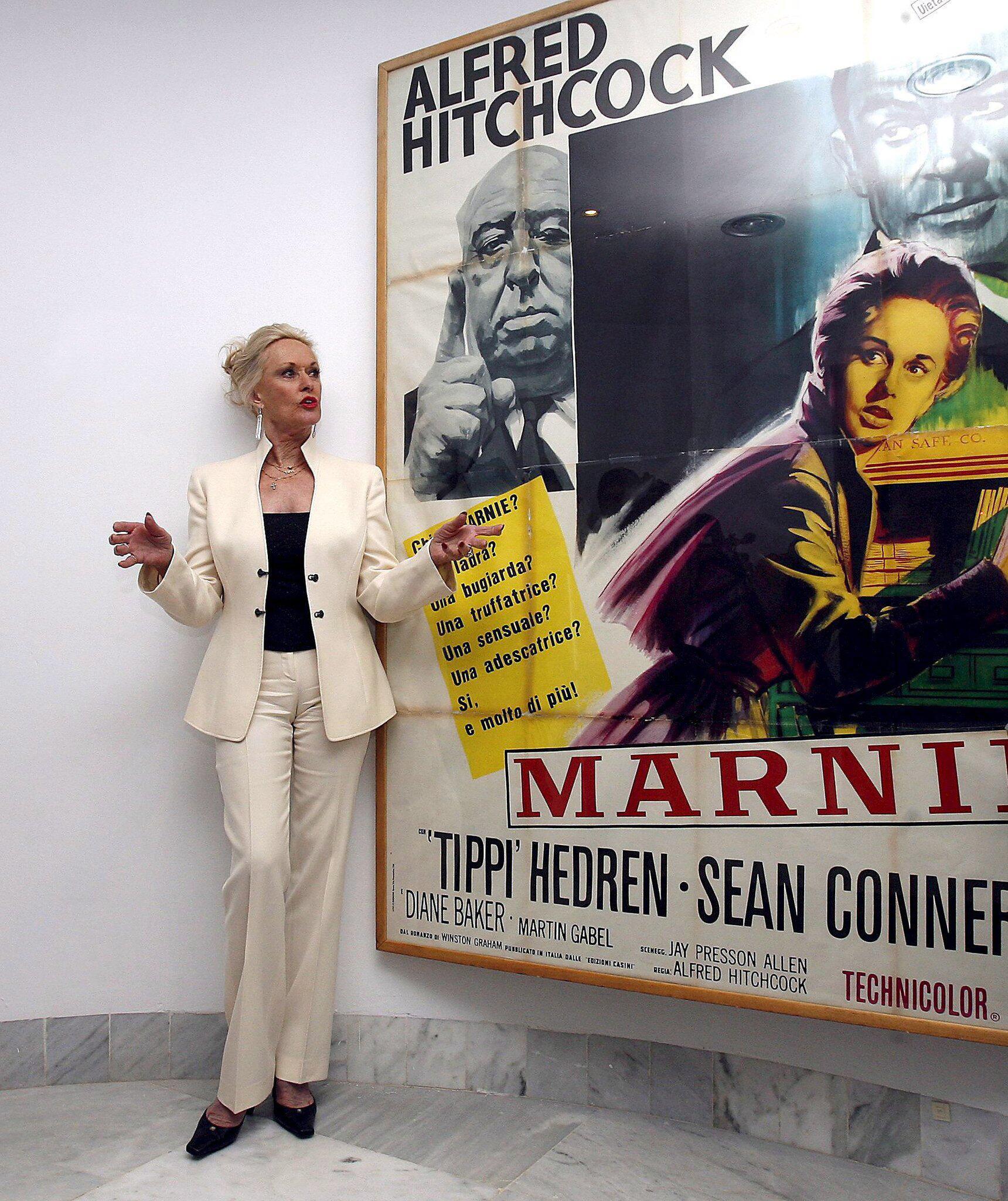 Bild zu Tippi Hedren wird 90