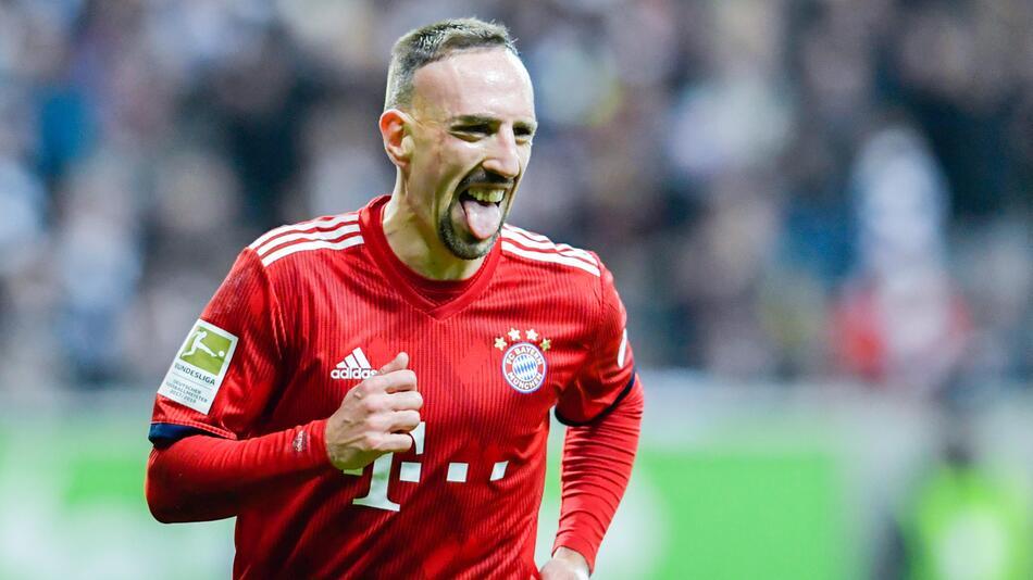 Ribery, Bayern, Fußball, SaltBae, Bundesliga