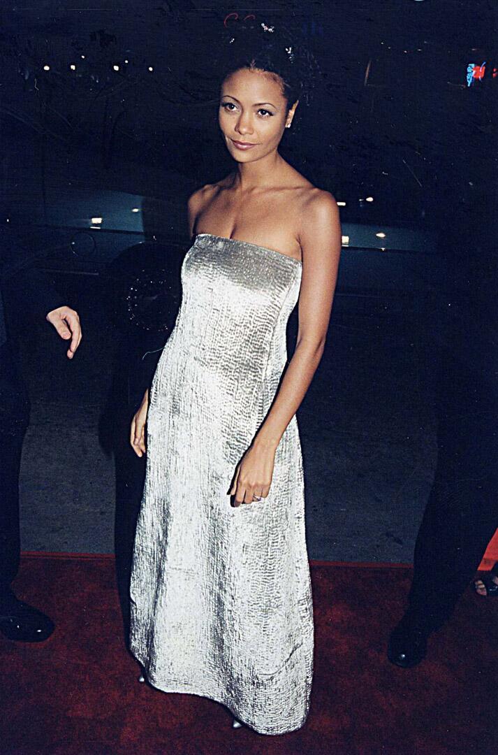 Bild zu Brad Pitt, Freundin, Thandie Newton