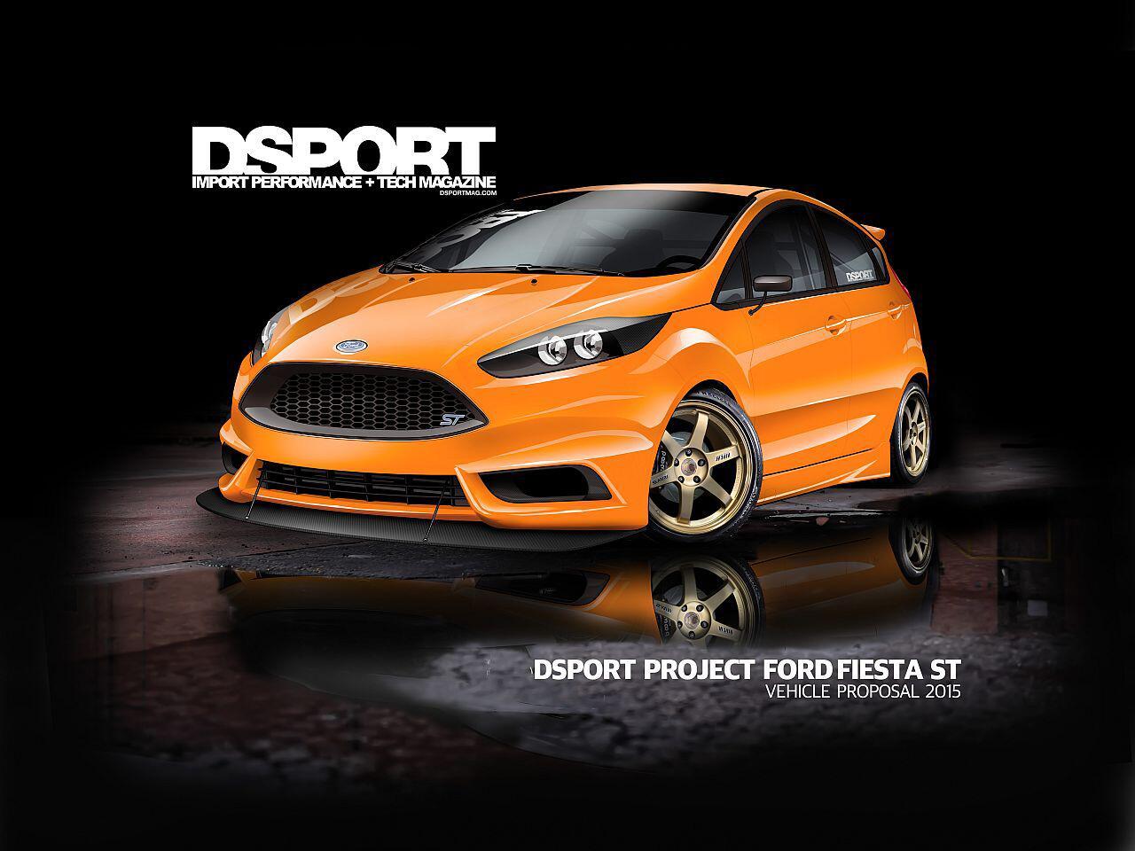 Bild zu Ford Fiesta ST von DSport