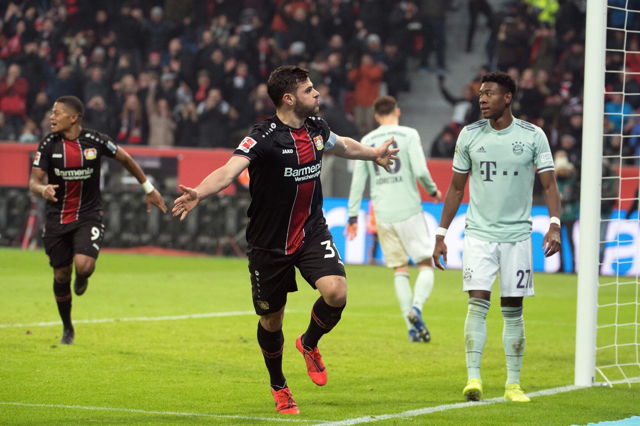 Bild zu Bayer Leverkusen - Bavaria Munich