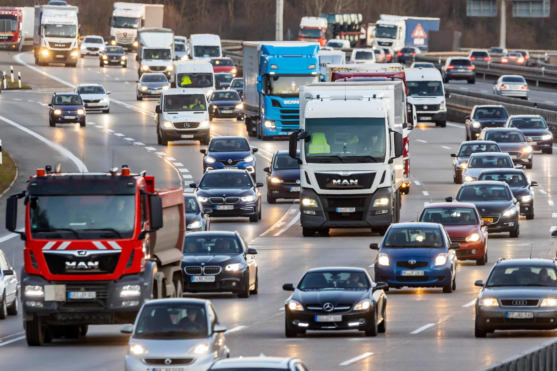 Bild zu Stau, Autobahn