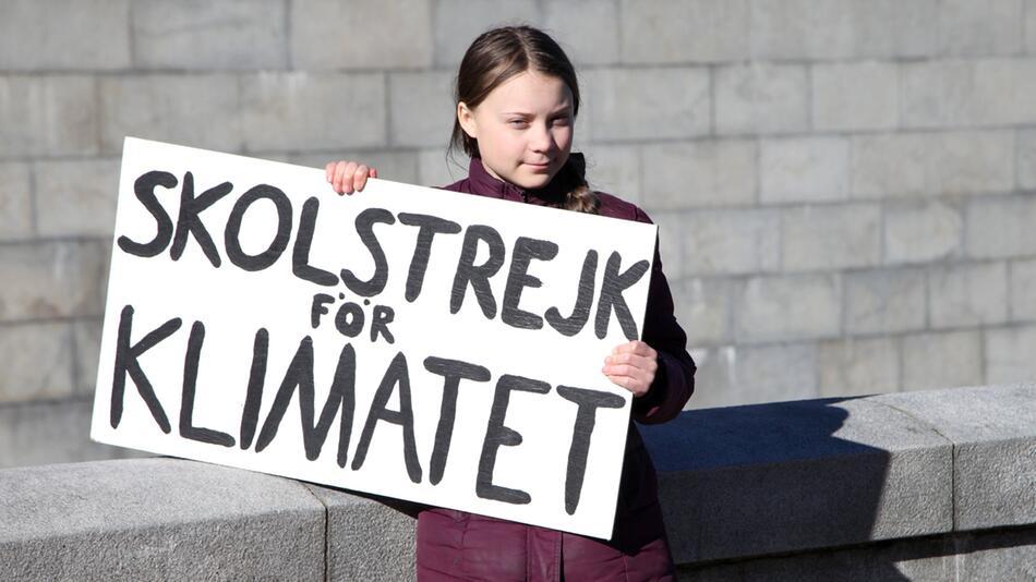 Greta Thunberg streikt weiter online
