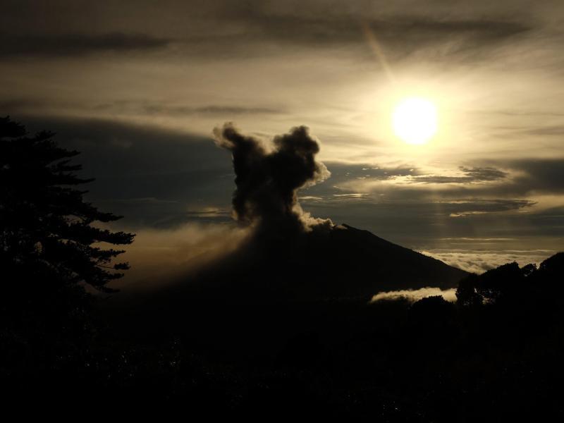 Bild zu Vulkan Turrialba wieder aktiv