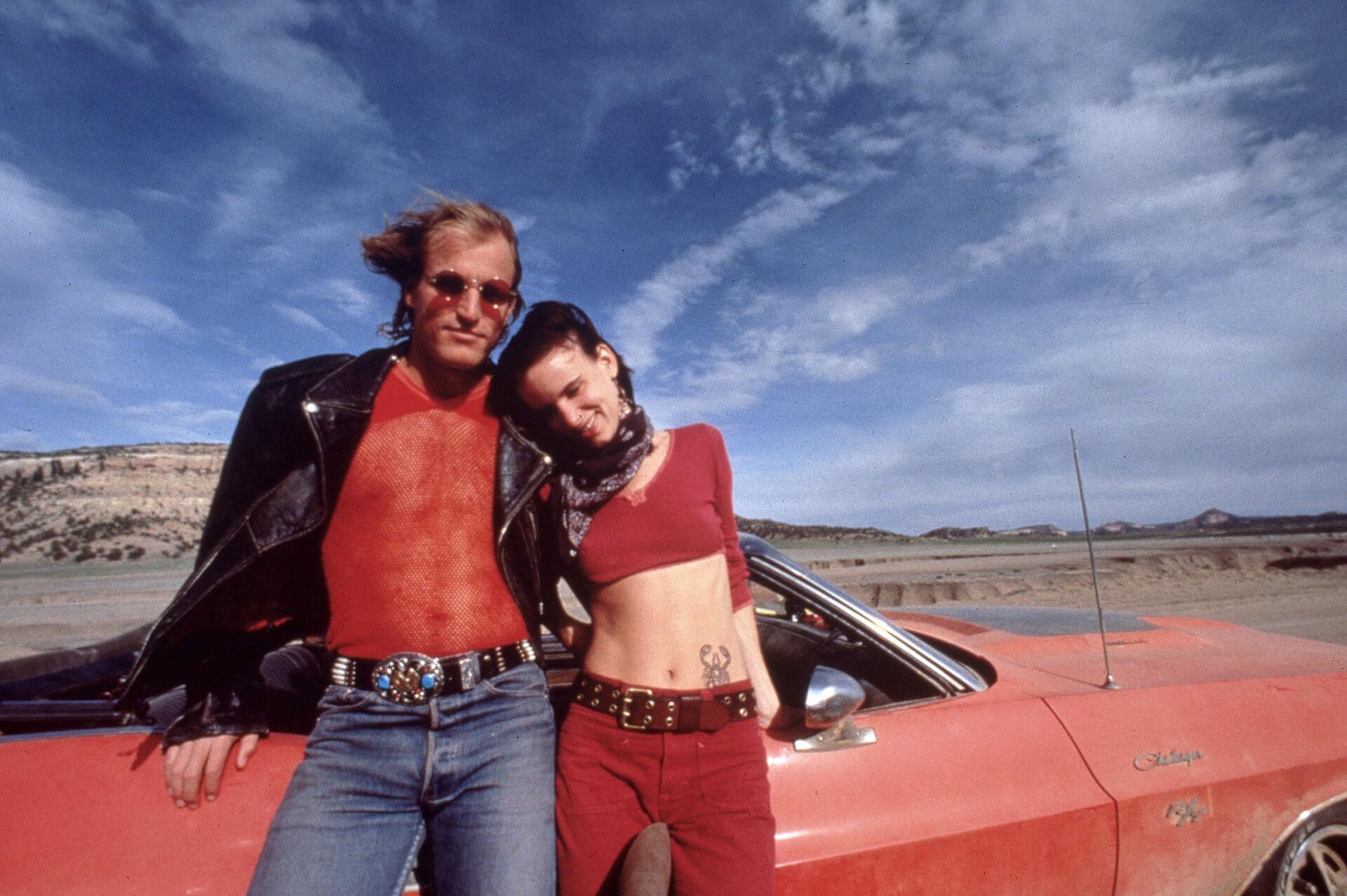Bild zu Woody Harrelson, Mickey Knox, Juliette Lewis, Mallory Knox, Natural Born Killers