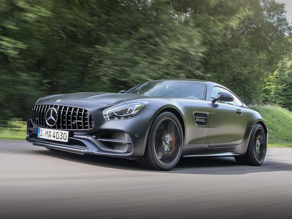 Bild zu Mercedes-AMG GT C Coupé
