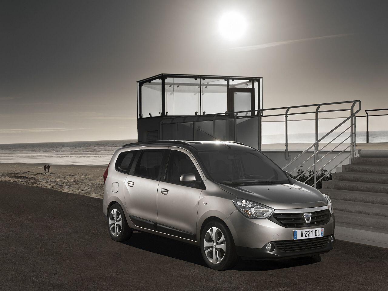 Bild zu Bester Werterhalt in Prozent bei den Kompakt-Vans: Dacia Lodgy dCi 110