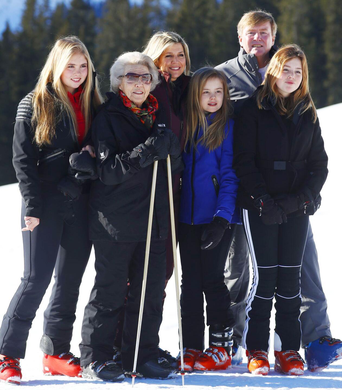 Bild zu Niederländische Königsfamilie in Österreich