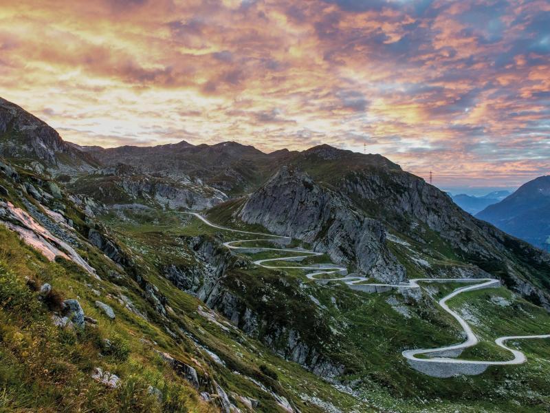 Bild zu Erste Alpenpässe wieder befahrbar