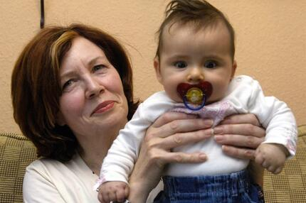 Annegret R. und Tochter Lelia
