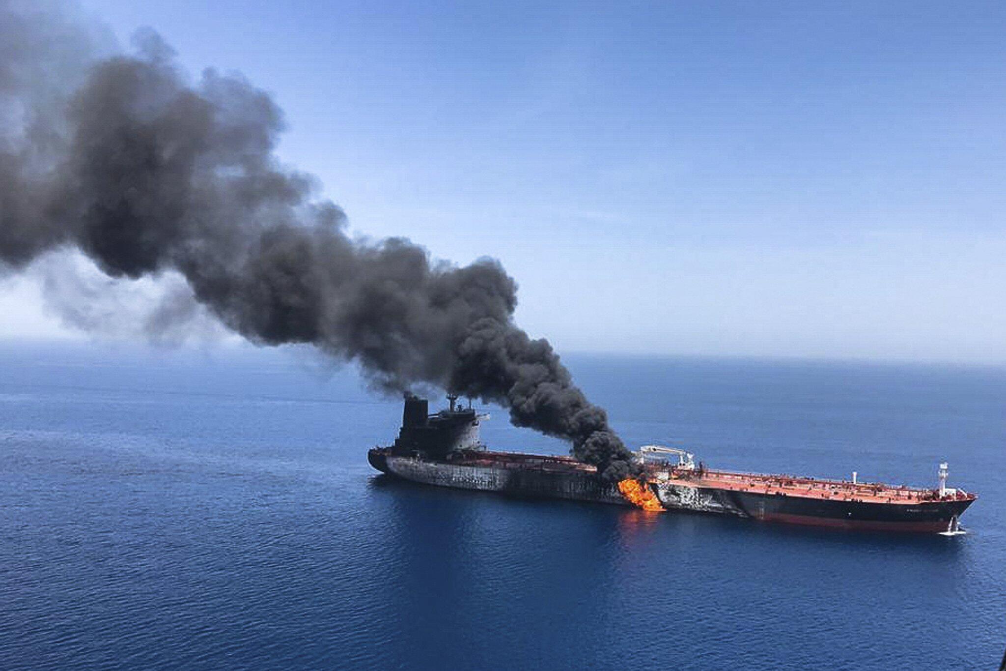 Bild zu Zwischenfall im Golf von Oman