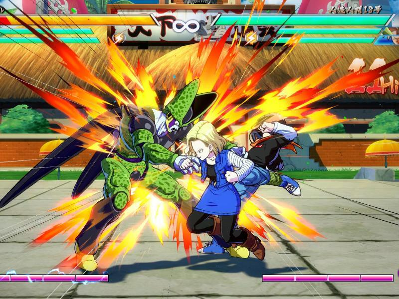 Bild zu «Dragon Ball FighterZ»
