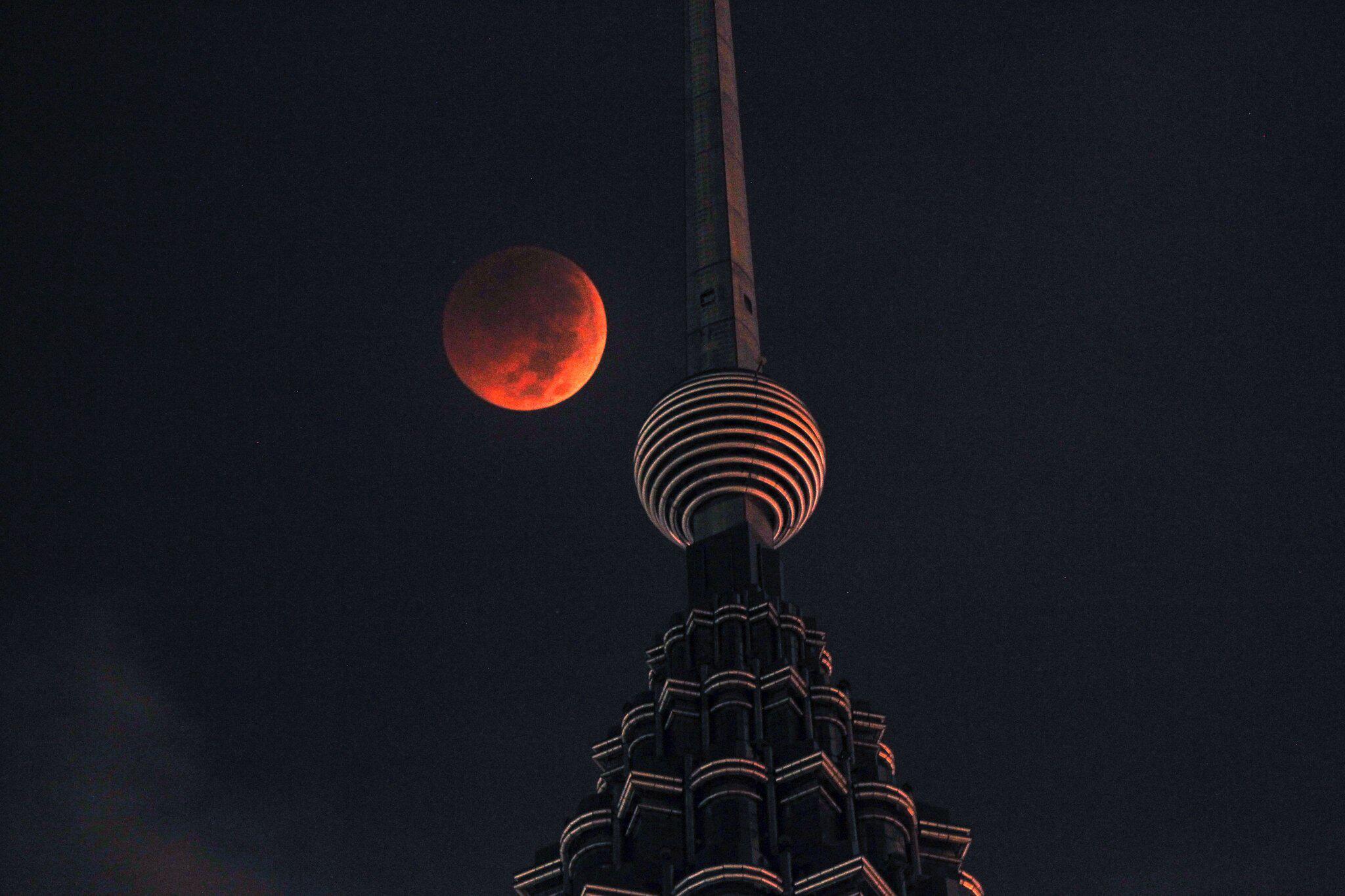 Bild zu Mondfinsternis, Malaysia