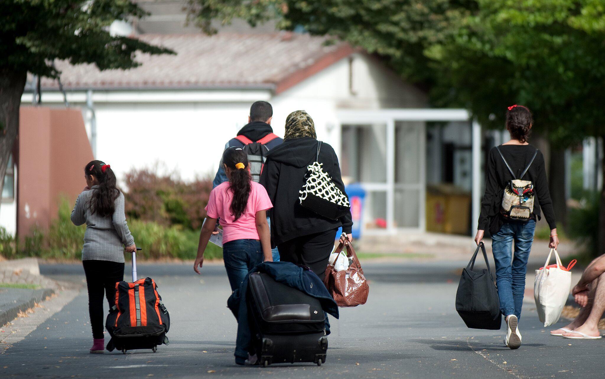 Bild zu Flüchtlinge in Friedland