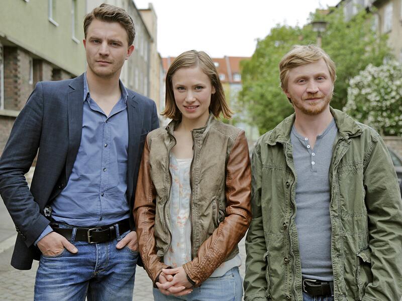 """Bild zu Gestatten: Das neue Dreier-""""Tatort""""-Gespann aus Erfurt."""