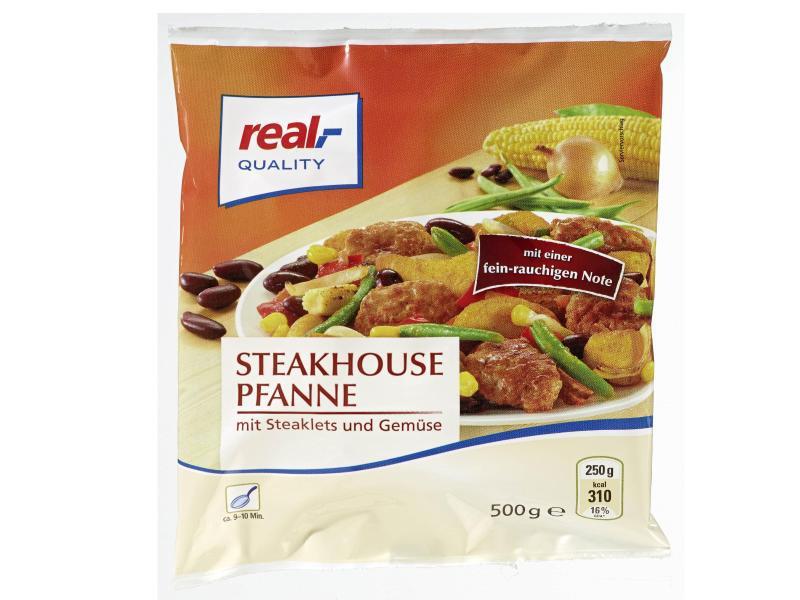 Bild zu real,- Quality Steakhousepfanne