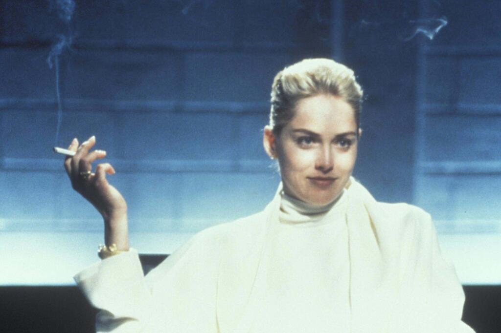 Sharon Stone, Catherine Tramell, Basic Instinct