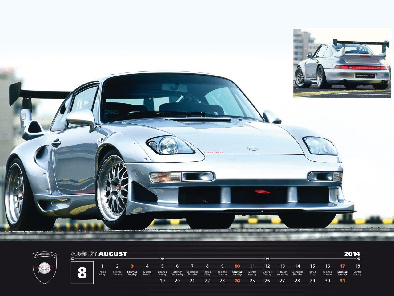 Bild zu Breiter und brachialer: Von dem Porsche 993 ist nur noch wenig übrig geblieben