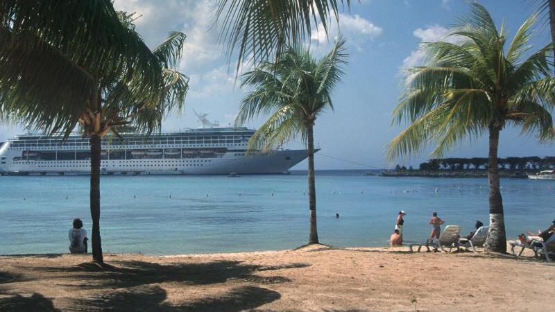 Strand von Jamaika