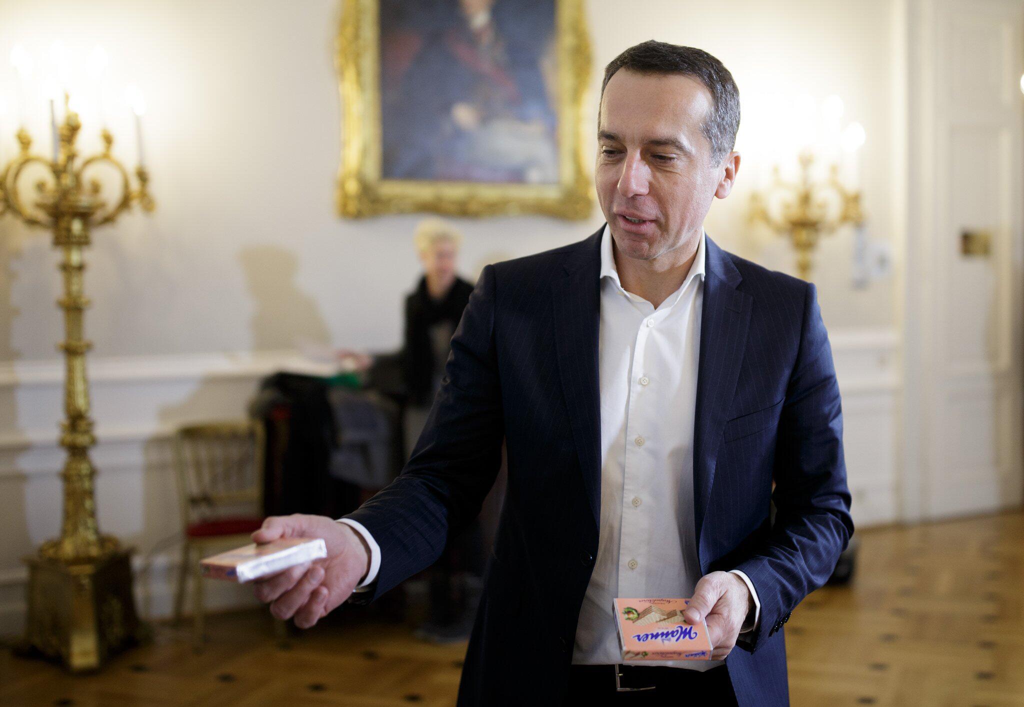 Bild zu Regierungskrise in Österreich, Christian Kern