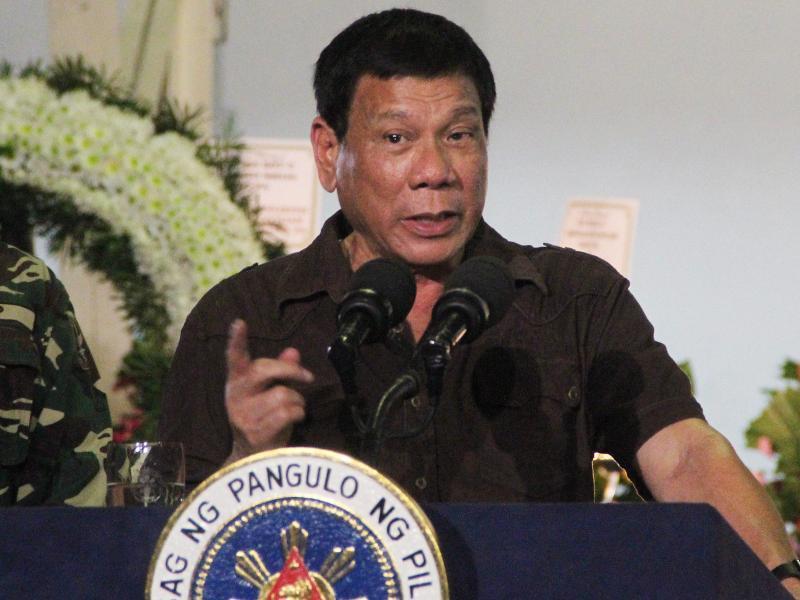 Bild zu Rodrigo Duterte