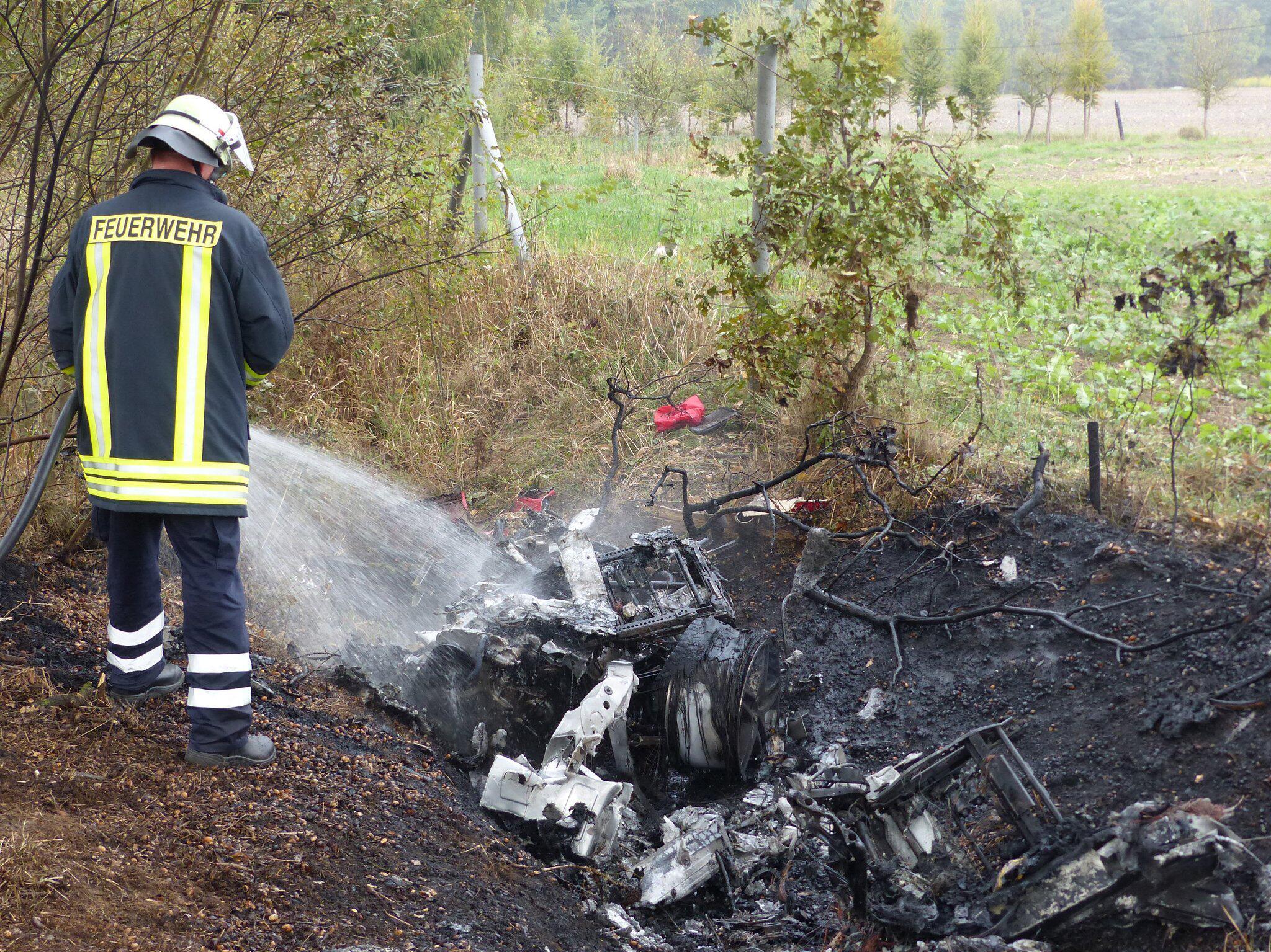 Bild zu Zwei Tote bei Unfall in der Lüneburger Heide